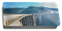 Portable Battery Charger featuring the photograph Bixby Bridge,big Sur by Jingjits Photography