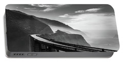 Portable Battery Charger featuring the photograph Bixby Creek Bridge,big Sur by Jingjits Photography