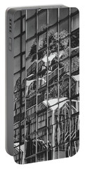 Portable Battery Charger featuring the photograph Black And White Architecture Art by Sheila Mcdonald