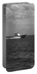 Black And White Boating Portable Battery Charger