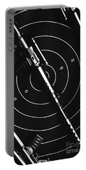 Black And White Military Marksman  Portable Battery Charger