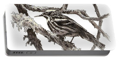 Black-and-white Warbler Portable Battery Charger