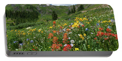 Portable Battery Charger featuring the photograph Black Bear Pass Landscape by Cascade Colors