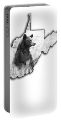 Black Bear Standing Portable Battery Charger