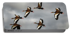 Black Bellied Whistling Ducks Portable Battery Charger