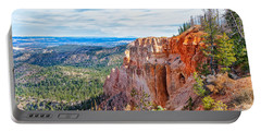 Portable Battery Charger featuring the photograph Black Birch Canyon by John M Bailey