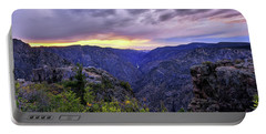 Black Canyon Sunset Portable Battery Charger