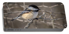 Black-capped Chickadee Iv Portable Battery Charger