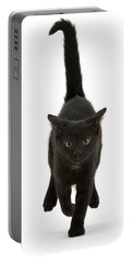 Black Cat On The Run Portable Battery Charger