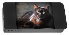 Black Cat The Way Portable Battery Charger