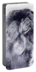 Black Chow Chow  Portable Battery Charger