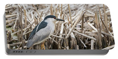 Black-crowned Night Heron 2017-1 Portable Battery Charger by Thomas Young