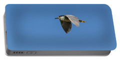 Portable Battery Charger featuring the photograph Black-crowned Night Heron by Yeates Photography