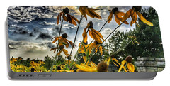 Black Eyed Susan Portable Battery Charger by Sumoflam Photography