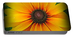 'black Eyed Susan' Portable Battery Charger