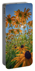 Black-eyed-susans Bask In The Sun Portable Battery Charger