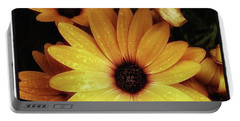 Portable Battery Charger featuring the photograph Black Eyed Susans. Looks Like They're by Mr Photojimsf