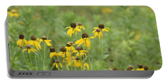 Portable Battery Charger featuring the photograph Black-eyed Susans by Maria Urso