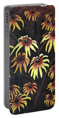 Black Eyed Susie Portable Battery Charger
