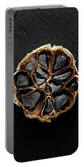 Black Garlic Cross-section Portable Battery Charger