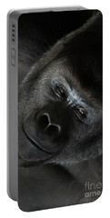 Black Gorilla Smile Portable Battery Charger