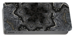 Black Granite Kaleido #2 Portable Battery Charger
