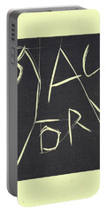 Black Ivory Title Page Portable Battery Charger