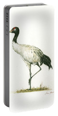 Black Necked Crane Portable Battery Charger