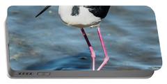Black-necked Stilt Shows Legs Portable Battery Charger