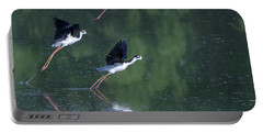 Black-necked Stilts 4302-080917-2cr Portable Battery Charger