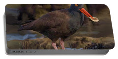 Black Oyster Catcher Portable Battery Charger