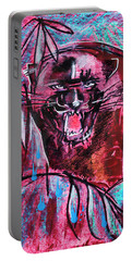 Black Panther,  Original Painting Portable Battery Charger