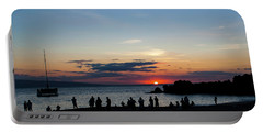 Black Rock Sunset Portable Battery Charger
