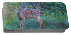 Black-tail Deer Fawn 2 Portable Battery Charger