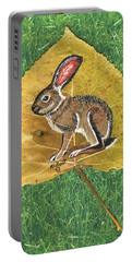Black Tail Jack Rabbit  Portable Battery Charger
