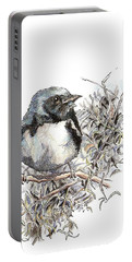 Black-throated Blue Warbler Portable Battery Charger