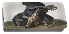 Black Vulture Or Carrion Crow Portable Battery Charger