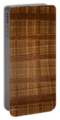 Black Walnut Ink Drawing Portable Battery Charger by Tom Janca