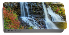 Black Water Falls #3 Portable Battery Charger