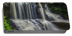 Black Water Falls Portable Battery Charger