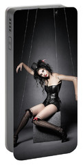 Black Widow Marionette Puppet  Portable Battery Charger