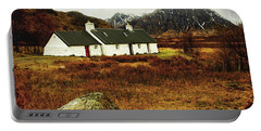 Blackrock Cottage Glencoe Portable Battery Charger by Jacqi Elmslie