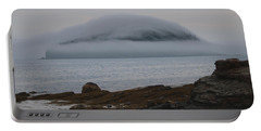 Blanket Of Fog Portable Battery Charger by Living Color Photography Lorraine Lynch
