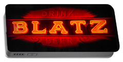Blatz Beer  Portable Battery Charger by Susan  McMenamin
