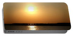 Portable Battery Charger featuring the photograph Blaze Of Glory by Debra Forand