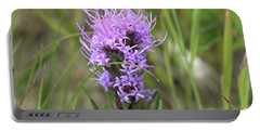 Portable Battery Charger featuring the photograph Blazing Star by Ann E Robson