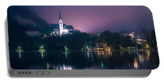 Portable Battery Charger featuring the photograph Bled Slovenia 2 by Mariusz Czajkowski