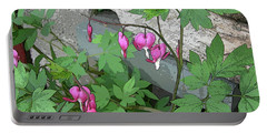 Bleeding Hearts Portable Battery Charger