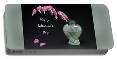 Bleeding Hearts Portable Battery Charger by Don Spenner