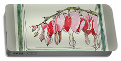 Bleeding Hearts II Portable Battery Charger